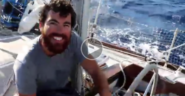 Arrivée aux Açores après 17 jours de mer